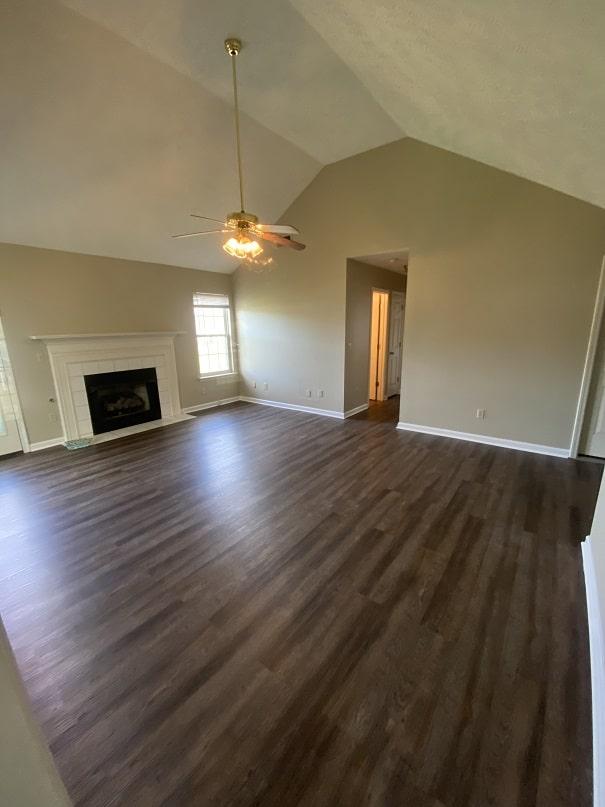 living room new floor